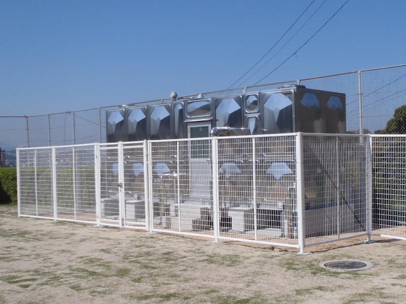下関南総合支援学校給水設備改修工事
