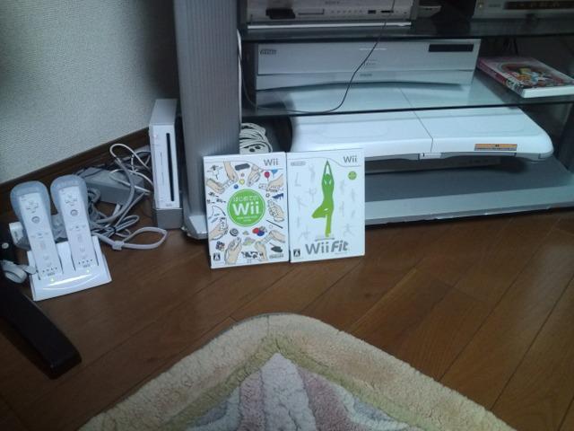 Wii と Wii Fit