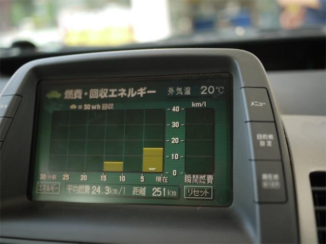 プリウスの燃費(平成21年10月度) その2