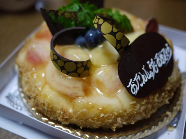 妻の誕生日 ケーキハウス チカヨー のケーキでお祝い