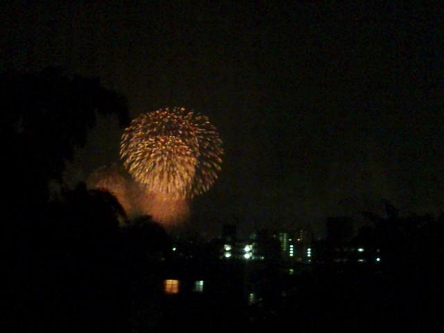 関門海峡花火大会 門司側