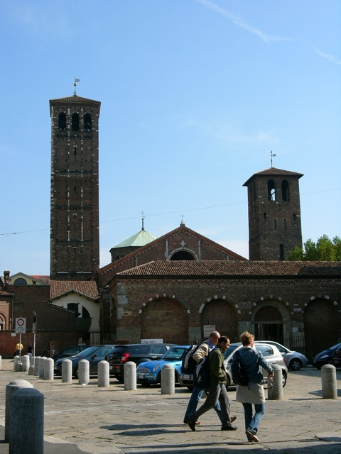 九十九伸一 Canone della Luce 聖アンブローシォ聖堂