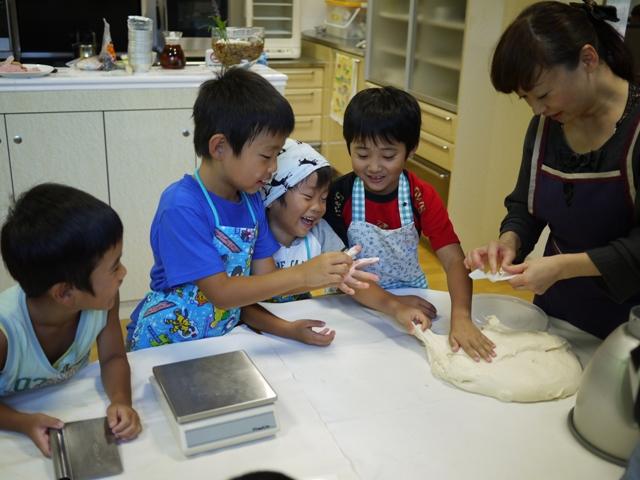 親子パン教室