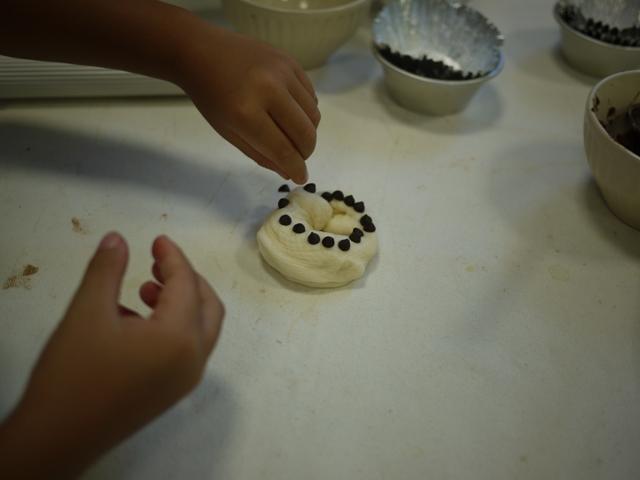 親子パン教室のパン